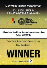 2011 MBA Winner - Alt, Add, Reno & Rest over $500k copy