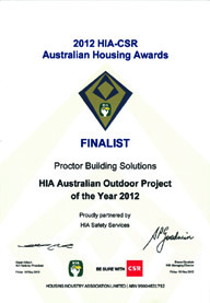 2012 HIA Australian Finalist - Outdoor Project of the Year
