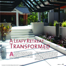 Hunter Lifestyle Magazine 53 - A Leafy Retreat Transformed
